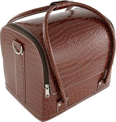 Handtasmodel-koffer Bordeaux rood
