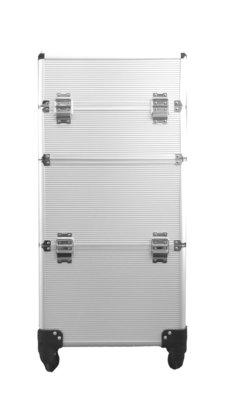 Visagie-nagelstyliste koffer Titanium