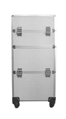 Visagie-nagelstyliste koffer Wit Bling