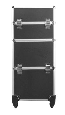 Visagie-nagelstyliste koffer Zwart