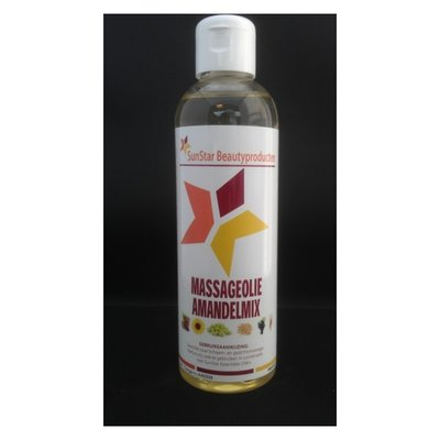 SunStar Massageolie Amandelmix 200 ml
