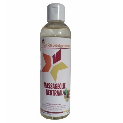 Massage olie Neutraal 200 ml