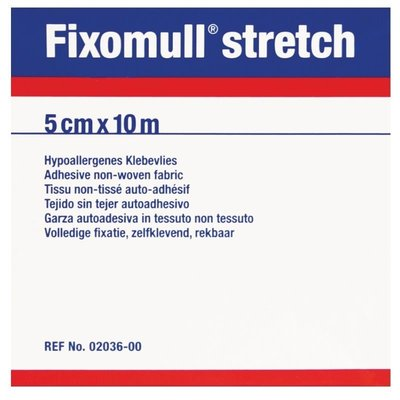 Fixomull Stretchpleister 10 m x 5 cm