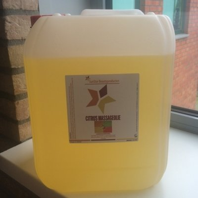 Massageolie Neutraal Sunstar can 10 liter