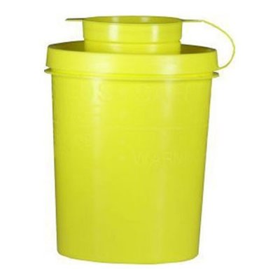Mes&naaldcontainer 0,7 liter