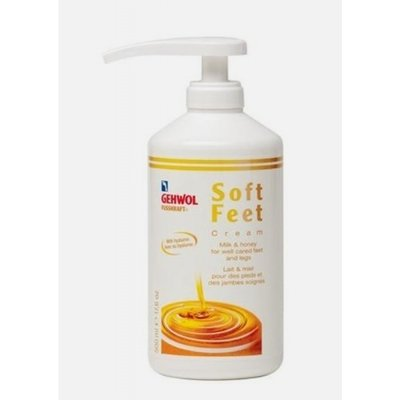 Gehwol Fusskraft soft feet creme 500 ml inclusief pomp