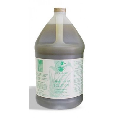 Set-N-Me-Free Gallon Body wrap solution concentrate, 3,78 liter per stuk
