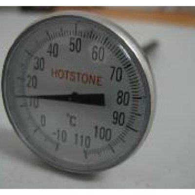 Thermometer hotstone RVS