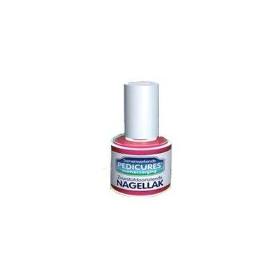 Samenwerkende pedicures Nagellak licht roze
