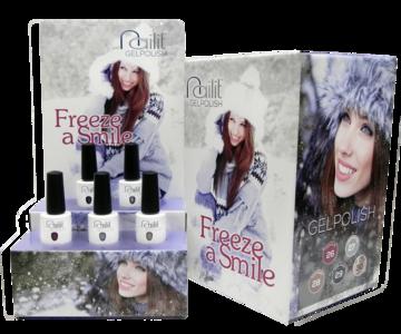 Nailit display Freeze a Smile incl. 5 kleuren