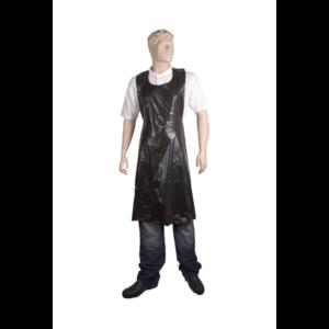 Unigloves Plastic schorten  pak a 50 stuks zwart