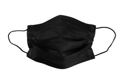 A Mondmasker/Mondkapje Type 1 3 Laags Zwart