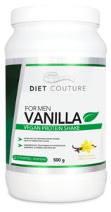 Diet Couture men Vanilla protein shake 500 gr