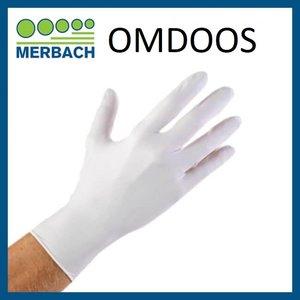 Handschoenen Soft Nitrile M Wit Omdoos