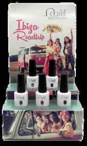 Nail it Ibiza RoadTrip display incl. 5 kleuren