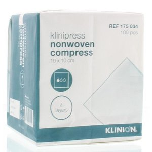 Klinion nonwoven compress